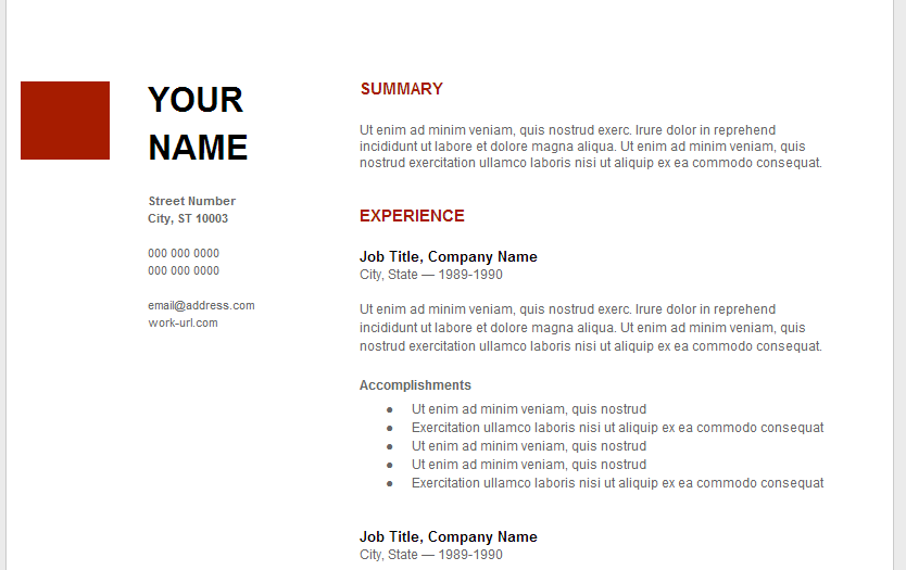 28+ [ Resume Examples For Google ] | Google Resume,Google Docs ...