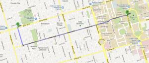 This 3K walk takes us through one of my favourite Toronto streets.