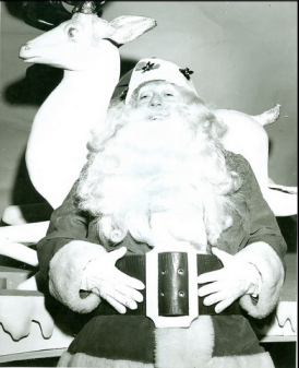 Santa from the 1900s, from the official Flickr feed